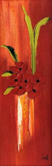 Sourie De Primtemps 2006 48x24 Original Painting by Jaline Pol