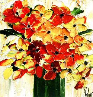 Belles Ephemere 2020 16x16 Original Painting - Jaline Pol