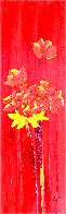 Percuhauts 2005 48x24 Super Huge Original Painting by Jaline Pol - 0