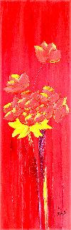 Percuhauts 2005 48x24 Super Huge Original Painting - Jaline Pol