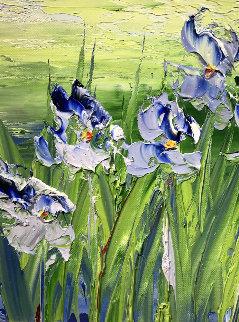 Purdues Des La Plaines 12x12 Original Painting - Jaline Pol