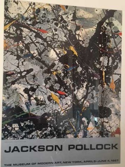 Untitled Poster, The Museum of Modern Art, New York, April 5 - June 4, 1967 Other by Jackson Pollock