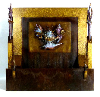 Burriram Bronze Sculpture AP 2016 18 in Sculpture - Michael J. Pollare