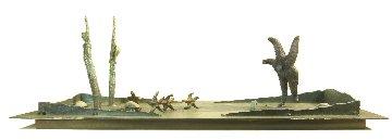 Maradonna Vs. Everyone Unique Bronze Sculpture 2016 31 in Sculpture - Michael J. Pollare