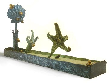 Robben Vs Van Der Sar Unique Bronze Sculpture 2016 29 in Sculpture by Michael J. Pollare