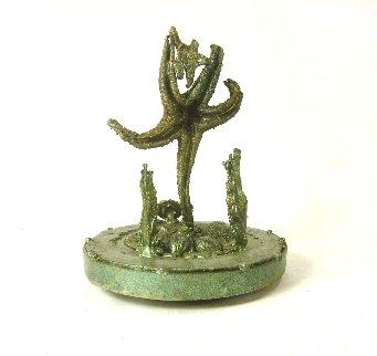 Full Manatee unique Bronze Sculpture 2016 10 in Sculpture - Michael J. Pollare