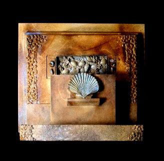 Jabalpur Bronze Unique Sculpture 14 in Sculpture - Michael J. Pollare