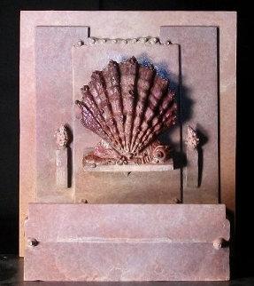 Surat, Bronze Sculpture - Ap Sculpture by Michael J. Pollare