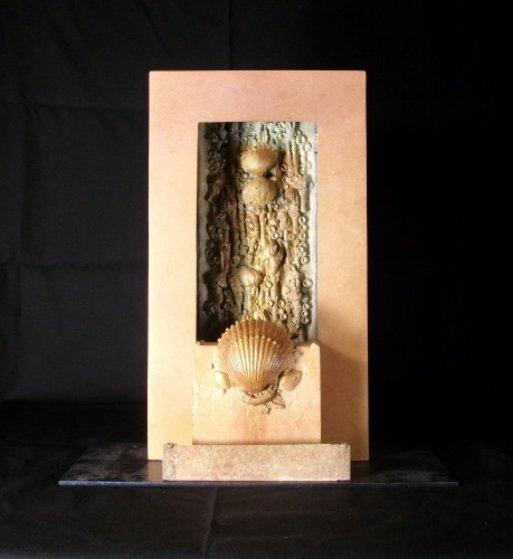 Kanpur Bronze Unique Sculpture Sculpture by Michael J. Pollare