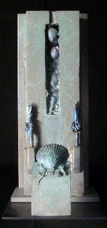 Icaria Bronze Sculpture Unique Sculpture - Michael J. Pollare
