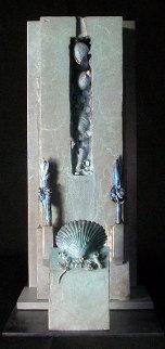 Icaria Bronze Sculpture Unique Sculpture by Michael J. Pollare