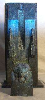 Corfu Bronze Unique Sculpture 2000 Sculpture - Michael J. Pollare