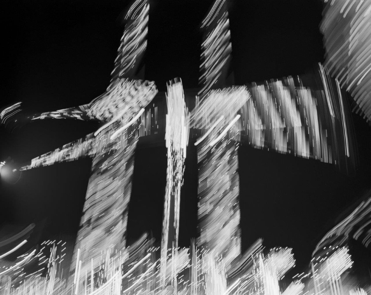Midway Lights 2014 Limited Edition Print by Simeon Posen