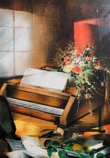 Piano Limited Edition Print - Raymond Poulet