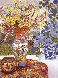 Sunrise and Morning Glories AP 1991 Limited Edition Print by John Powell - 0