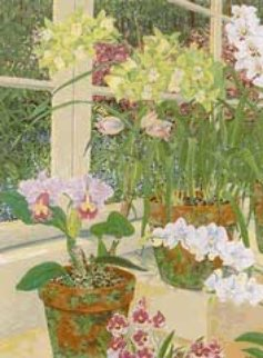 Orchids and Sunlight 1991 Limited Edition Print by John Powell