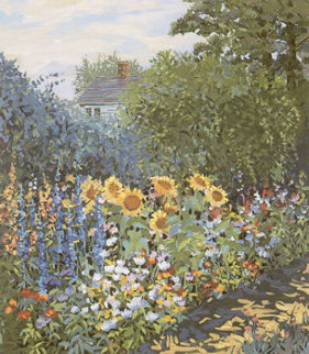 Sunflowers 1993 Limited Edition Print - John Powell