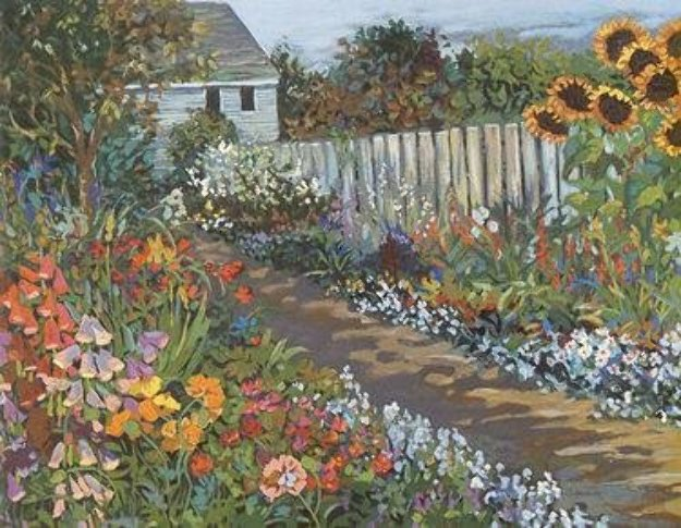 Country Path PP Limited Edition Print by John Powell