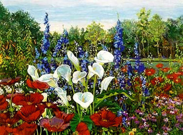 Riverwood Gardens PP Limited Edition Print by John Powell