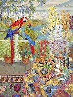 Parrots on the Veranda 1990 Limited Edition Print by John Powell - 1