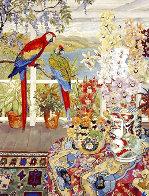 Parrots on the Veranda 1990 Limited Edition Print by John Powell - 0