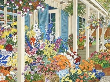 Jolain's Flowers 1991 Limited Edition Print - John Powell