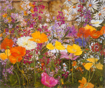 Iceland Poppies 1988 Limited Edition Print by John Powell