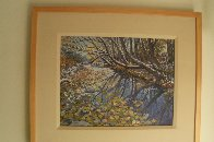 Creek in the Woods 2008 16x20 Original Painting by John Powell - 1