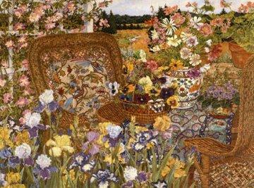 Spring Iris AP Limited Edition Print - John Powell