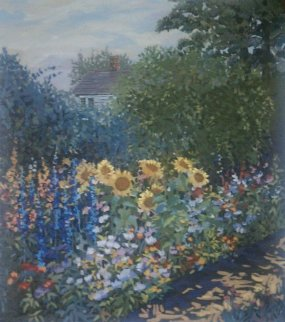 Sunflowers 1993 Limited Edition Print by John Powell