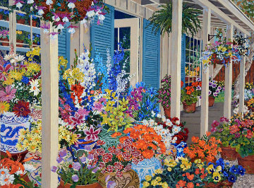 Jolain's Flowers 1991 Limited Edition Print by John Powell