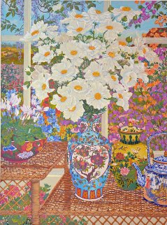 Cottage Garden 1989 Limited Edition Print by John Powell