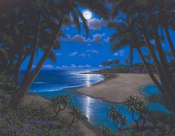 Moonlight Bay 2002 Embellished Limited Edition Print by Steven Power