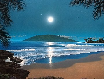 Wailea Moonrise 2003 Limited Edition Print by Steven Power