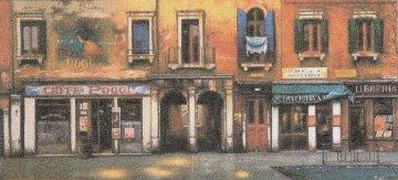 Caffe Poggi AP 1998 Limited Edition Print - Thomas Pradzynski