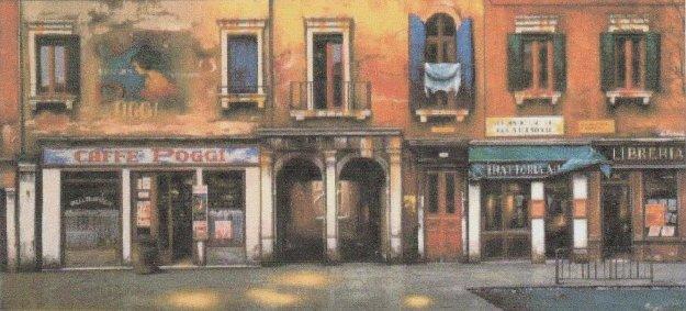 Caffe Poggi AP 1998 Limited Edition Print by Thomas Pradzynski