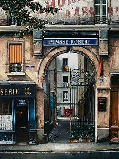 Impasse Robert Limited Edition Print - Thomas Pradzynski