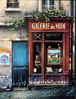 Gallerie Du Midi 1994 Limited Edition Print - Thomas Pradzynski