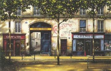 La Cremerie 1999 Limited Edition Print - Thomas Pradzynski