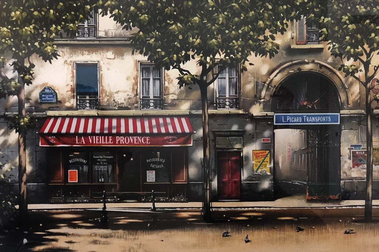 La Vielle Provence 1996 Limited Edition Print by Thomas Pradzynski