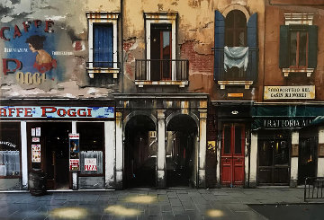 Caffe Poggi 2002 Super Huge Limited Edition Print - Thomas Pradzynski