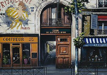 Cour De l'Etoile D'or 1999 Limited Edition Print - Thomas Pradzynski