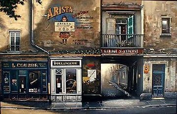 Garage San Antoine 1994 Limited Edition Print by Thomas Pradzynski