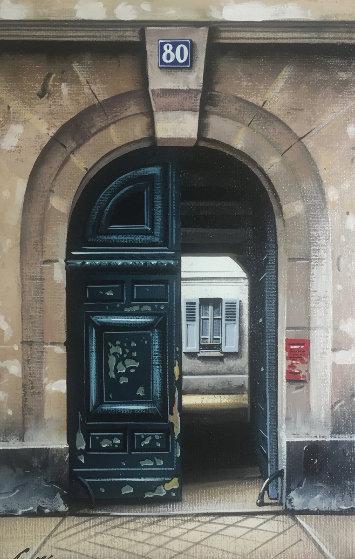 La Porte 80 1996 20x16 Original Painting by Thomas Pradzynski