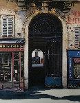 Rue Vieille Du Temple  1998 45x35 Original Painting - Thomas Pradzynski