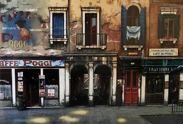 Caffe Poggi 2002 23x50 Huge  Limited Edition Print - Thomas Pradzynski