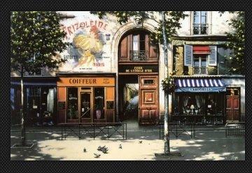 Cour De l'etoile D'or  AP 1999 Limited Edition Print - Thomas Pradzynski