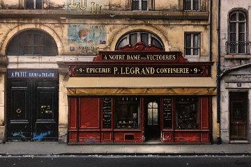A Notre Dame Des Vitcoires 32x46 Super Huge Original Painting - Thomas Pradzynski