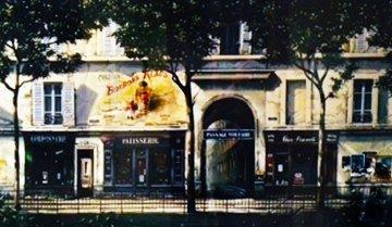 Passage Voltaire 1994 Deluxe Limited Edition Print - Thomas Pradzynski