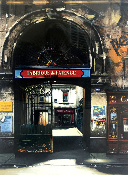 Fabrique De Faience and Villa Rimbaud: Passages De Paris, Suite of 2 Limited Edition Print by Thomas Pradzynski